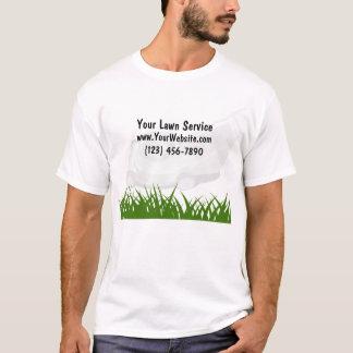 Camisetas del servicio del césped