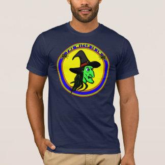 Camisetas divertidas de la bruja