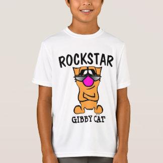 Camisetas divertidas de los muchachos del gato,