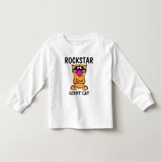 Camisetas divertidas de los niños del gato,
