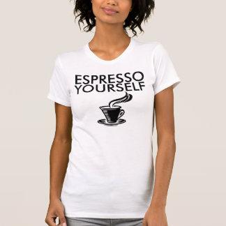 Camisetas divertidas del café del CAFÉ EXPRESS