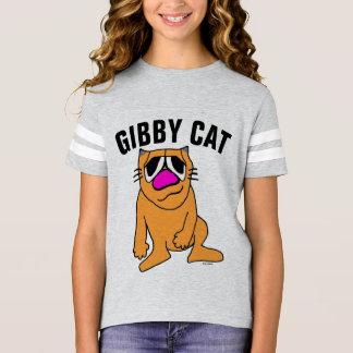 Camisetas divertidas del CAT de GIBBY para los