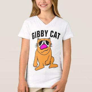 Camisetas divertidas del gato del CAT de GIBBY