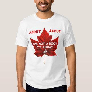Camisetas divertido del recuerdo de Canadá de la