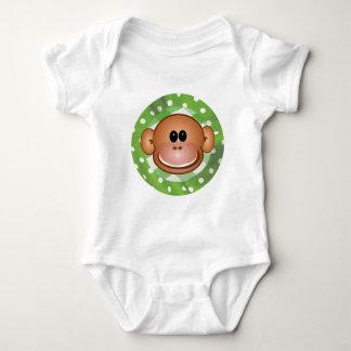 Camisetas enrrolladas del mono