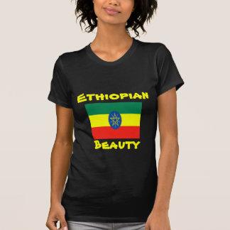Camisetas etíopes de la belleza