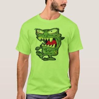 Camisetas extranjeras del monstruo