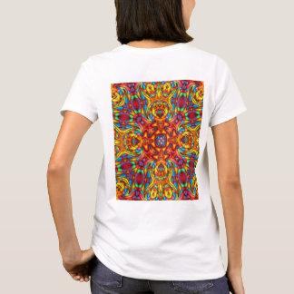 Camisetas extraño del caleidoscopio de Tiki,