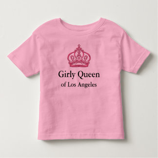 Camisetas femeninas de la reina