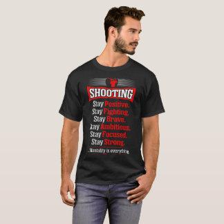 Camisetas fuertes ambiciosas valientes positivas