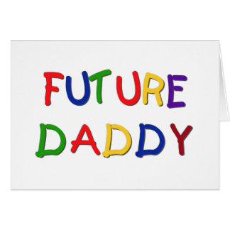 Camisetas futuras y regalos de los colores primari tarjeta