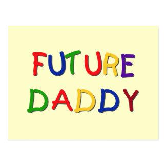 Camisetas futuras y regalos de los colores primari tarjeta postal