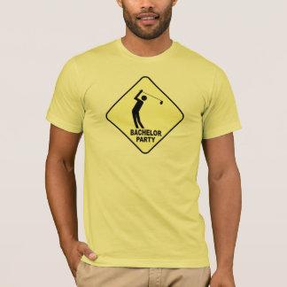 Camisetas Golfing de la despedida de soltero