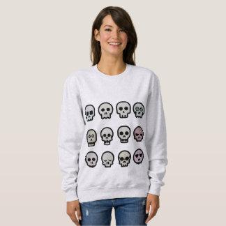 Camisetas góticas de Halloween, cráneos