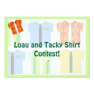 Camisetas icónico invitación 12,7 x 17,8 cm