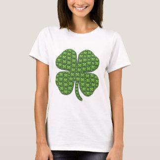 Camisetas irlandesas afortunadas del trébol