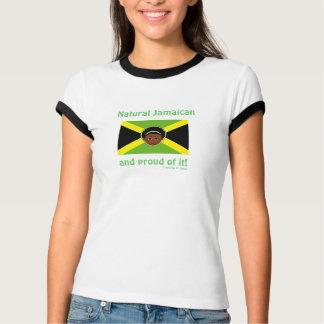 Camisetas jamaicanas naturales por los diseños de