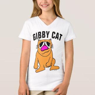 Camisetas lindas del gato para los niños, CAT de