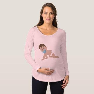 Camisetas lindo de la maternidad del bebé