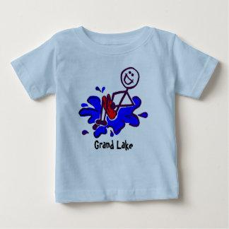Camisetas magníficas del lago para los niños