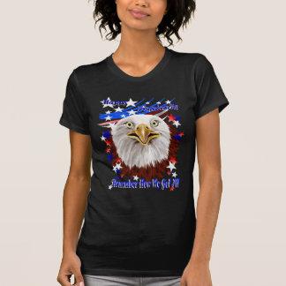 Camisetas magnífico del día de la Eagle-Independen