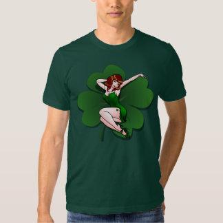 Camisetas modelo irlandés afortunado 5XL de la