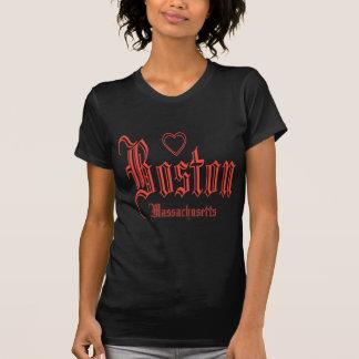 Camiseta Camisetas negras de Boston
