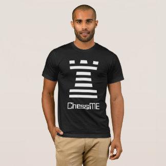Camisetas negras de encargo de ChessME con el
