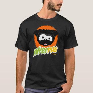 Camisetas negras de la oscuridad de WerePug