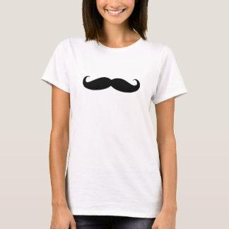 Camisetas o bigote de las señoras del bigote