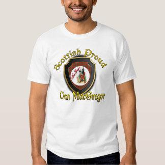 Camisetas orgulloso escocés de MacGregor del clan