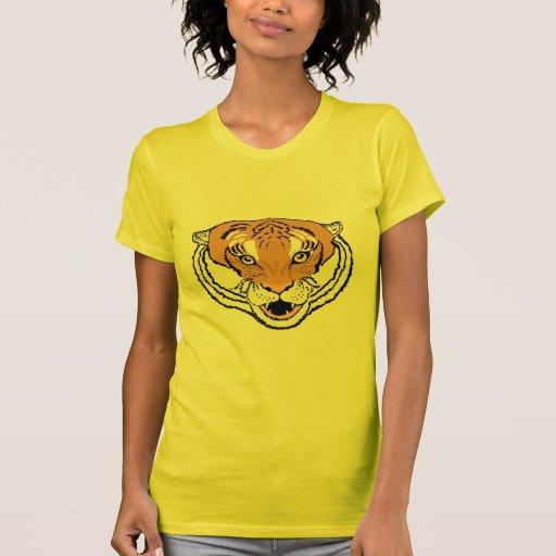 Camisetas para todos, él del rugido del tigre su b