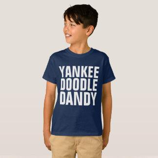 Camisetas patrióticas de los muchachos de los