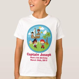 Camisetas personalizado de la fiesta de cumpleaños