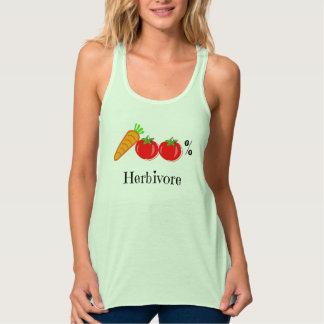 Camisetas sin mangas 100% del herbívoro