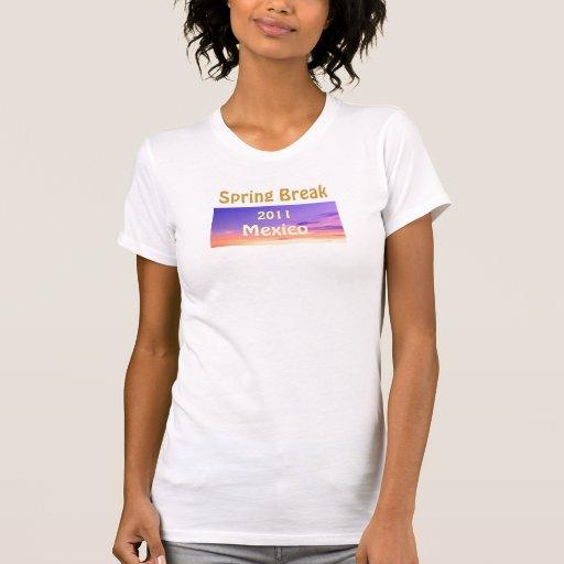 Camisetas sin mangas 2011 de México de las vacacio