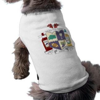 Camisetas sin mangas acanaladas del perrito