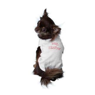 Camisetas sin mangas acanaladas del perrito de la