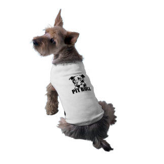 Camisetas sin mangas acanaladas PITBULL del Camiseta Sin Mangas Para Perro