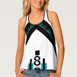 Camiseta De Tirantes Camisetas sin mangas audazes de Racerback del