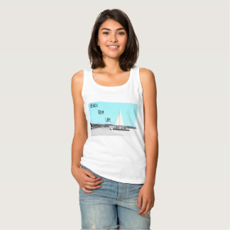 Camisetas sin mangas básicas de la vida del vago