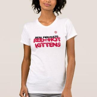 Camisetas sin mangas candentes de los gatitos