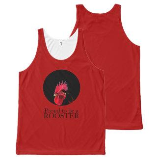 Camisetas sin mangas chinas 2017 del gallo de