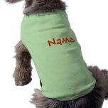 Camisetas sin mangas conocidas de la ropa del perr camisetas de mascota