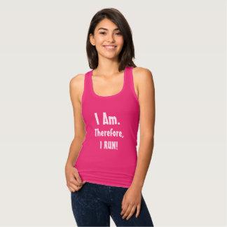 Camisetas sin mangas corrientes del medio maratón