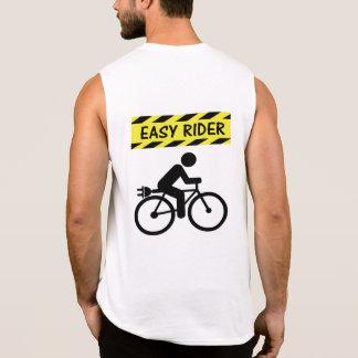 Camisetas sin mangas de ciclo del ebike del