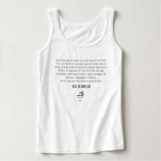 Camisetas sin mangas de dama Quote de Masie