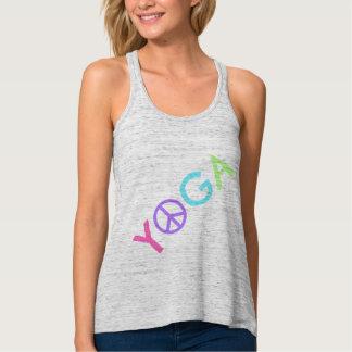 Camisetas sin mangas de Flowy de la YOGA