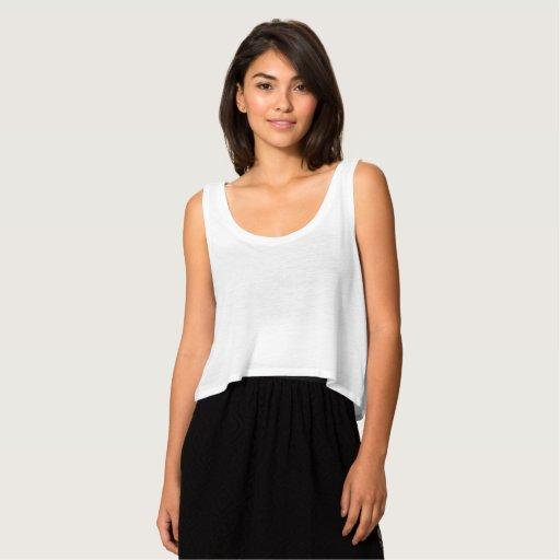 Camiseta de Bella de estilo suelto con hombro caido para mujer, Blanco