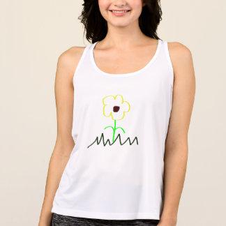 Camisetas sin mangas de la flor